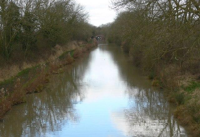 The Ashby Canal towards Wykin Bridge