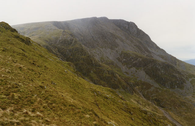 Gau Graig's northeast ridge