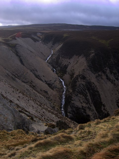 Outflow of Glaslyn