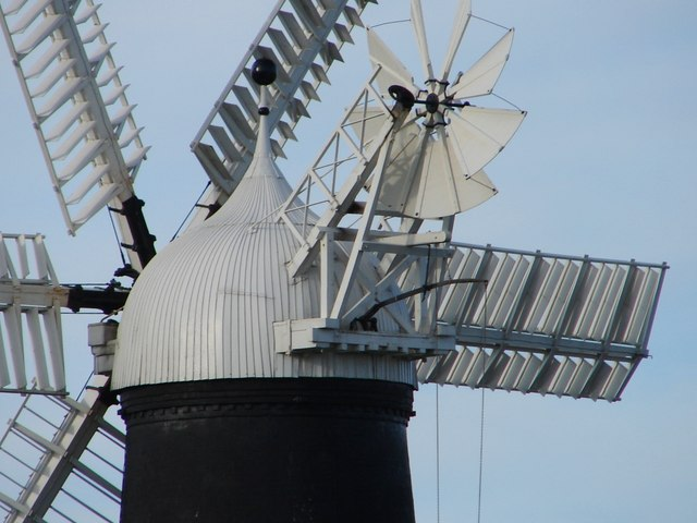 Detail of Roof of Sibsey Trader Mill