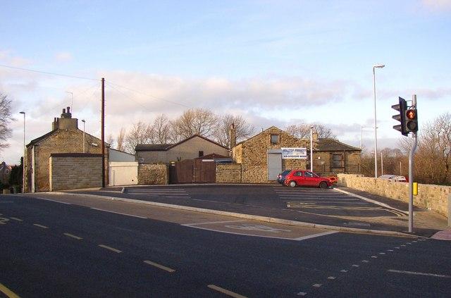 The new car park, Spen Lane, Hill Top, Gomersal
