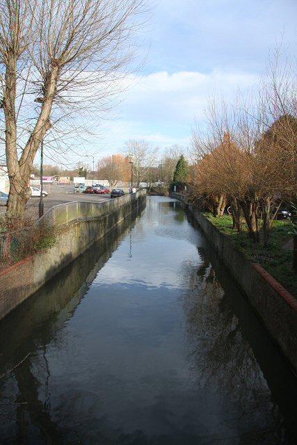 River Lark from Eastgate Bridge
