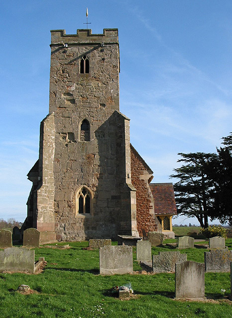 Tower of St. Anne's Church, Oxenhall