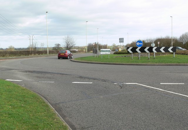 A47 Normandy Way roundabout