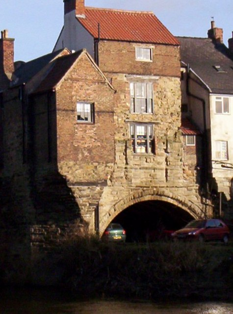 House on Elvet Bridge, Durham City