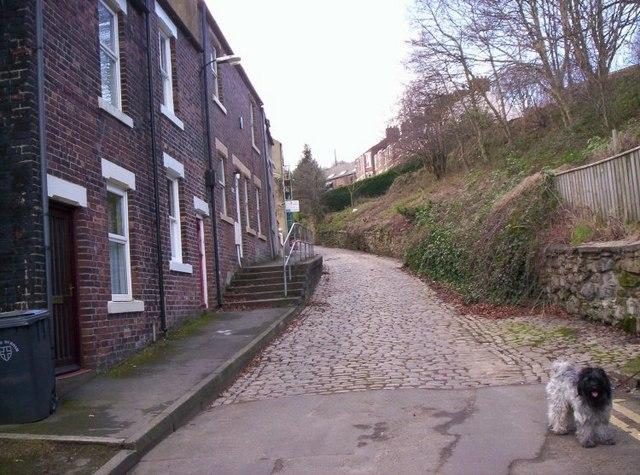 Sidegate, Durham City.