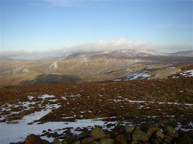 Summit of Windy Gyle