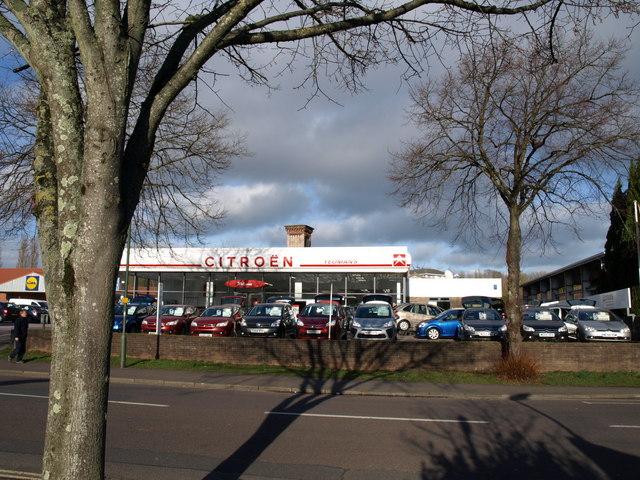 Citroen dealership, Torquay
