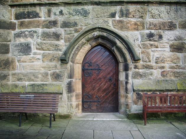 St Mary's Parish Church, Penwortham, Doorway