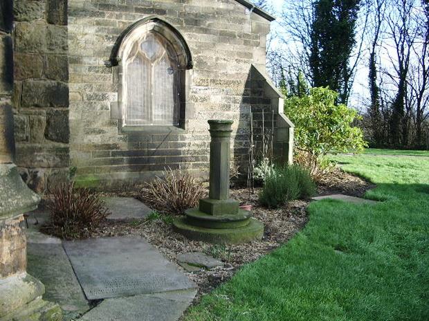 St Mary's Parish Church, Penwortham, Sundial