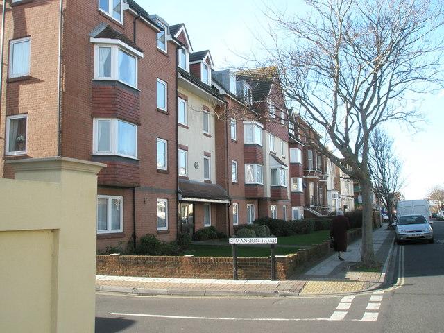 New flats near Mansion Road