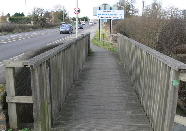 Footbridge over Harrow Brook