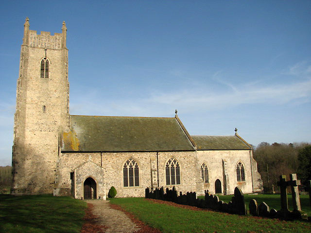 St Andrew's Church in Honingham
