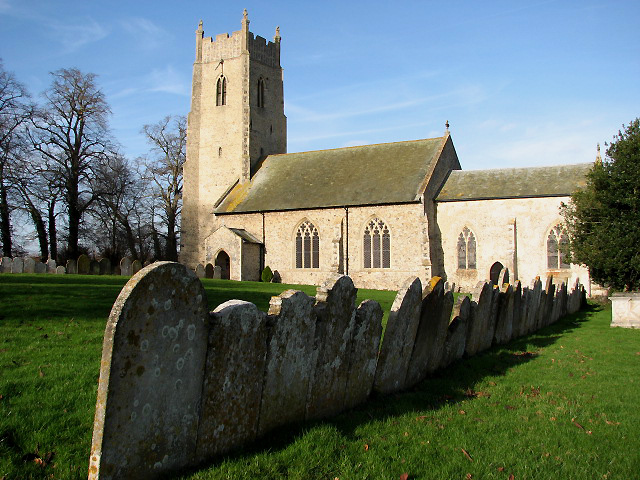 St Andrew's church in Honingham