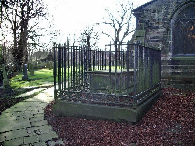 St Mary's Parish Church, Penwortham, Grave