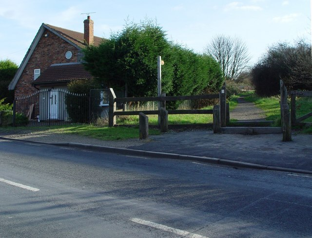 Burstwick Line across Magdalen Lane