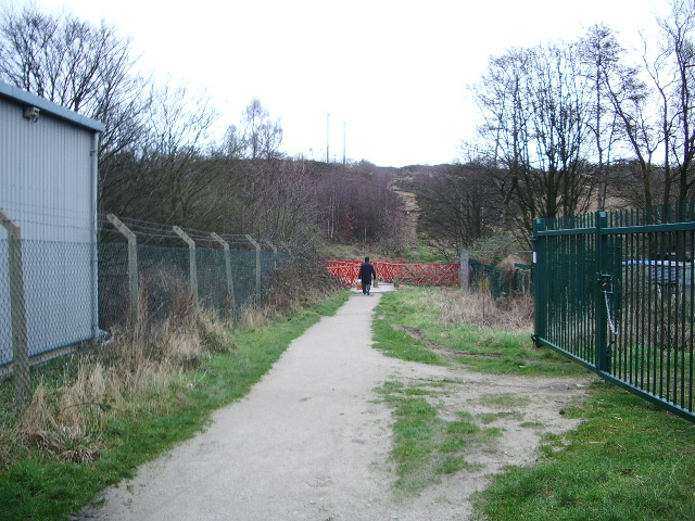 Footpath, Ewood, Blackburn