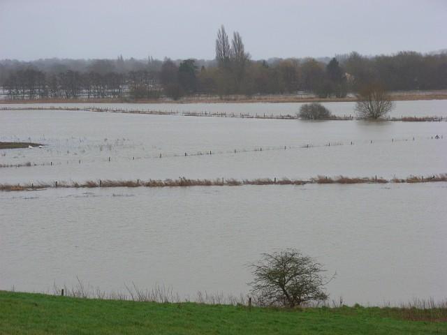 The Thames floodplain. Shiplake