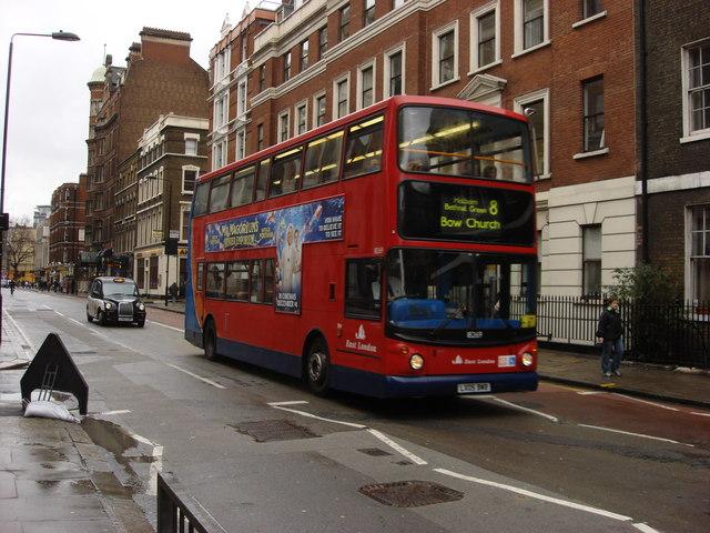 A40 Bloomsbury Way