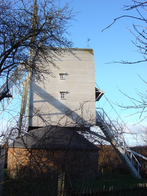 Finchingfield post Windmill, side
