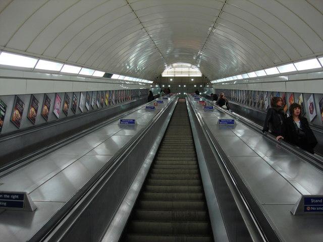 The longest escalators in Western Europe