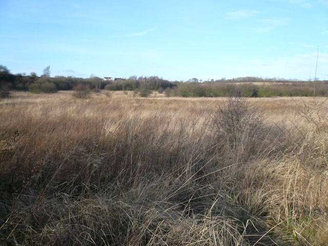 View across Scrubland towards Westhouses
