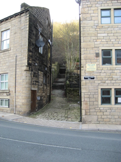 Cuckoo Steps, Hebden Bridge