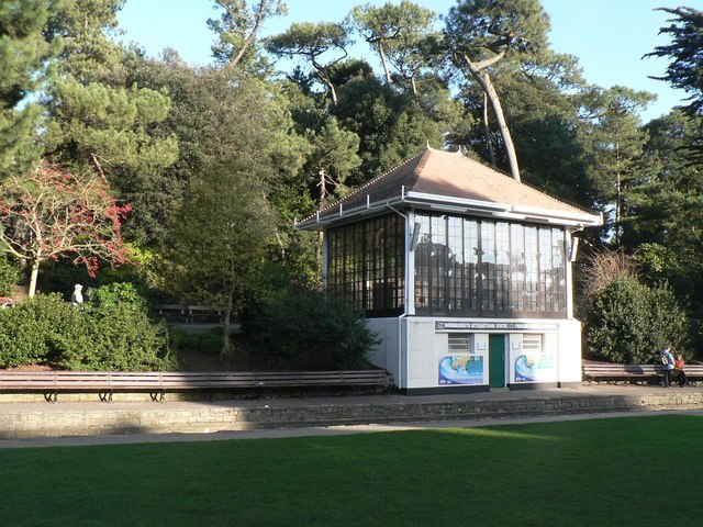 Bournemouth Gardens: the bandstand
