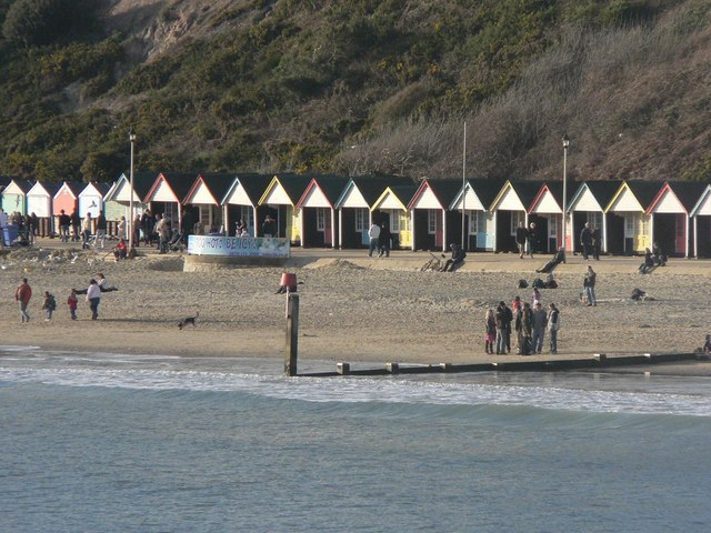 Bournemouth: West Cliff beach huts