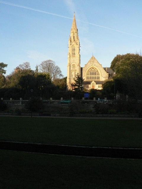 Bournemouth Gardens: in winter shade