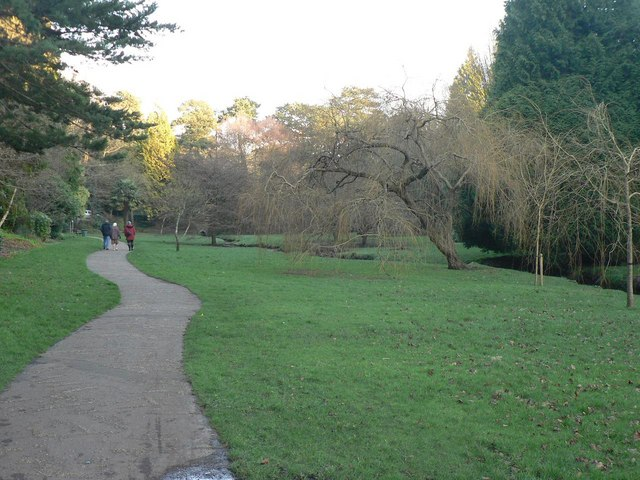 Bournemouth Gardens: approaching Queen's Road