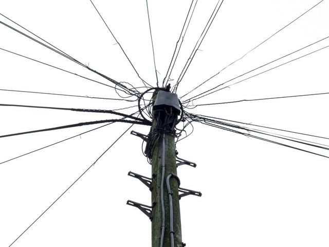 Telephone pole, Spilsby