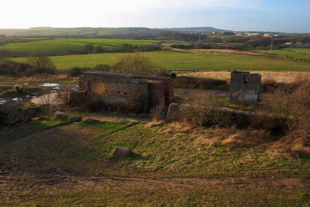 Remains of Lumpsey Ironstone Mine