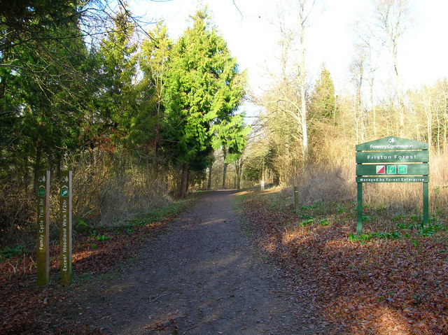 Entrance to Friston Forest