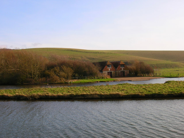 Boathouse, Old Cuckmere River