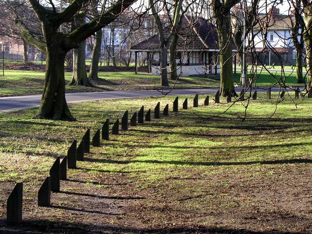 Anti Parking Stumps in West Park
