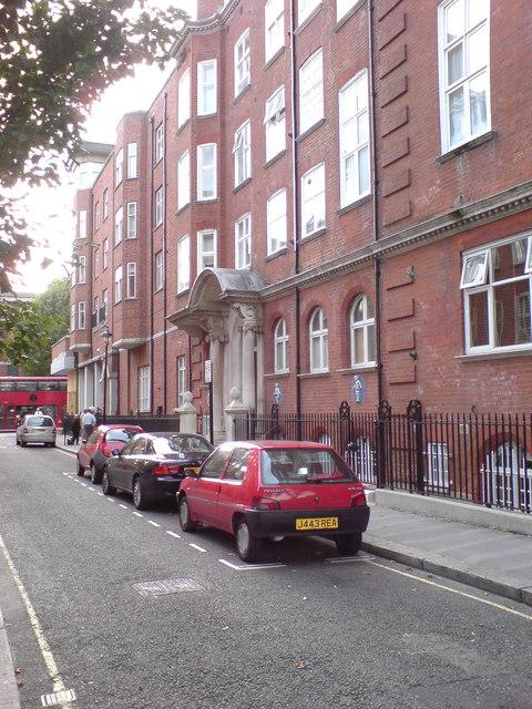 The old Westminster Children's Hospital