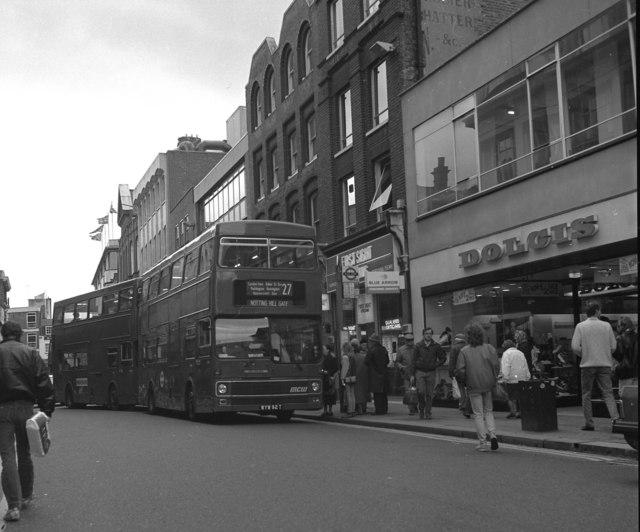 Bus opposite Richmond station