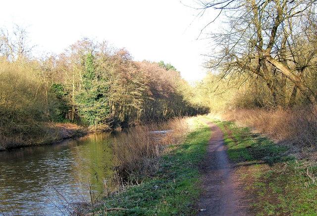 Staffs & Worcs Canal in Winter