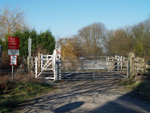 Marsh Lane Level Crossing