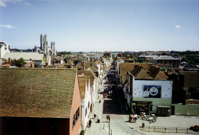 View of Canterbury from the West Gate