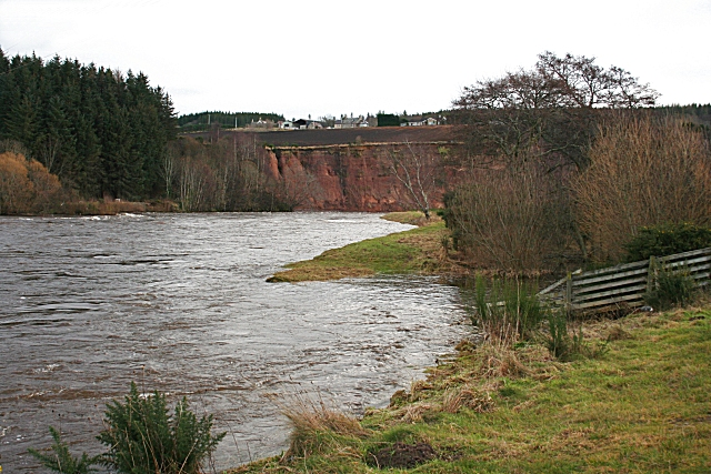 River Spey at the top of Brae Water