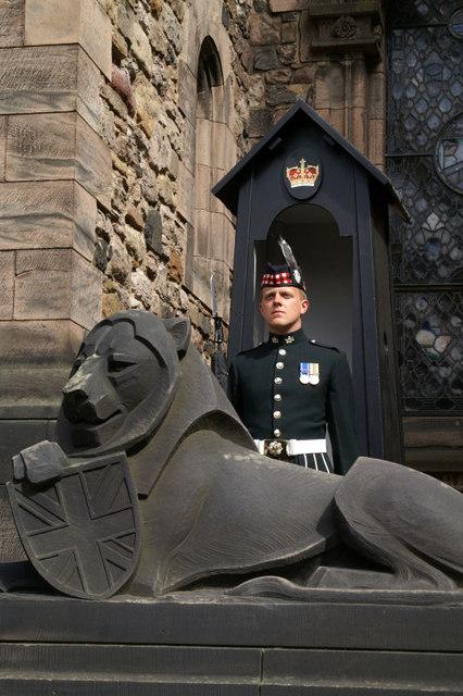 Soldier, Edinburgh Castle