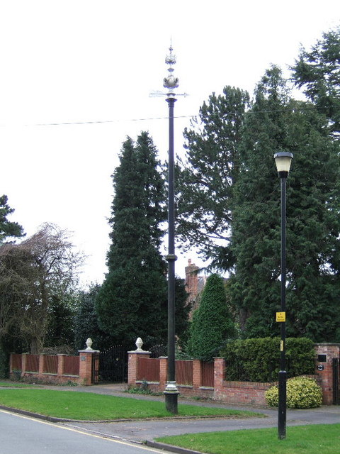 Sewer Vent Pipe, North Curzon Park, Chester