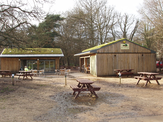 New café, toilets and information point at Burnham Beeches