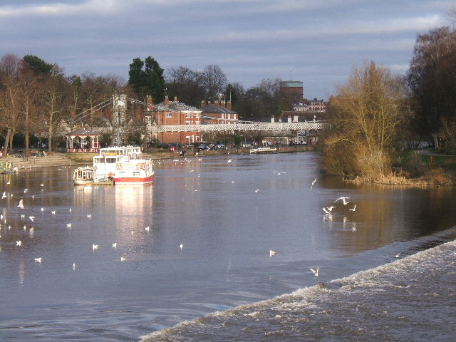 The River Dee, by the Groves, Chester