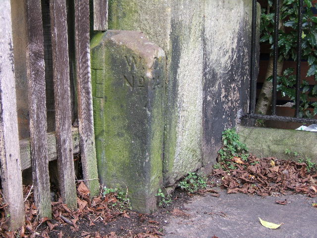 Boundary Stone on Chester City Walls