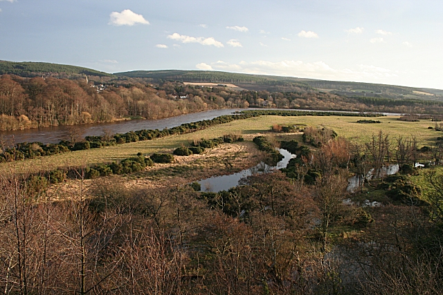 Abandoned River Channels by the Spey