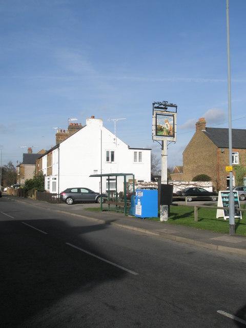 Bus stop in St Luke's Road