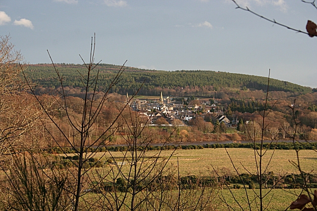 Fochabers from the Inchberry Road